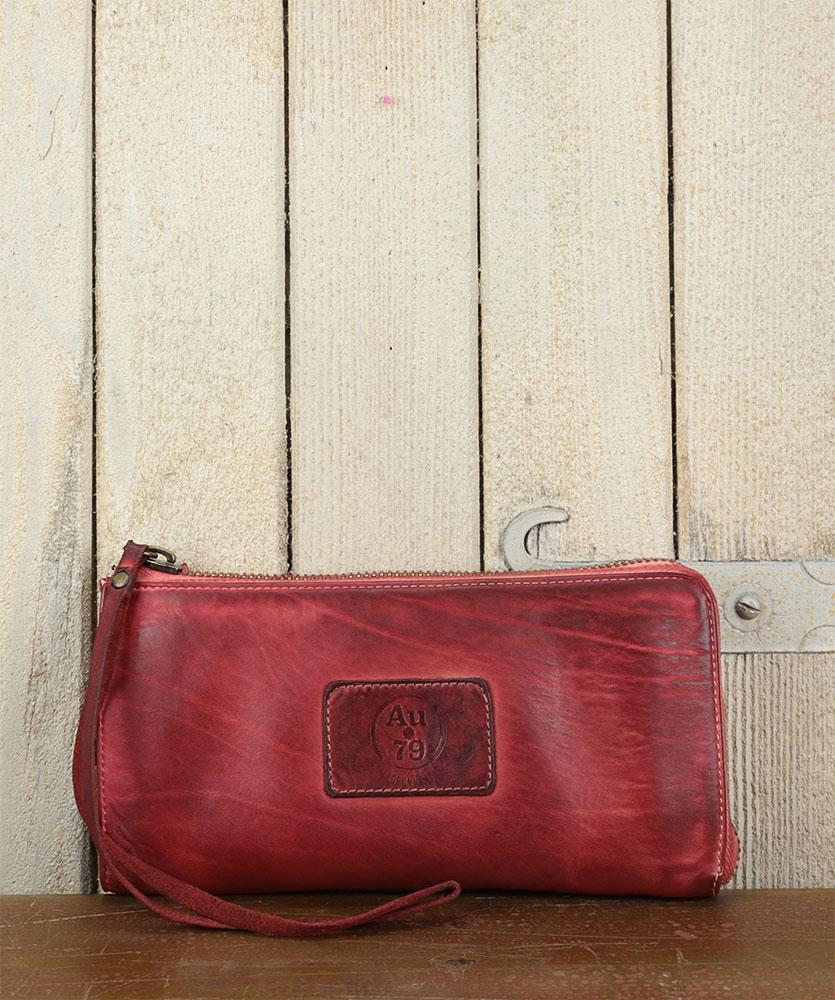 Wallets - clutch bag with shoulder strap - AU79 brand