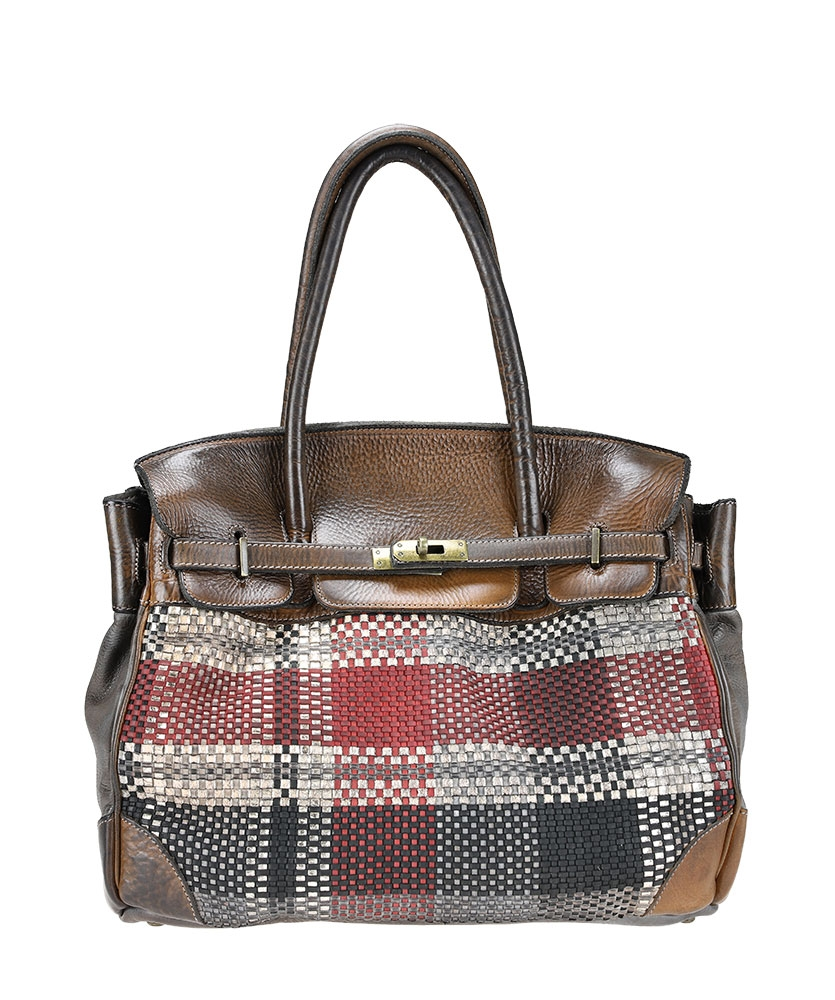 Vintage leather bag with