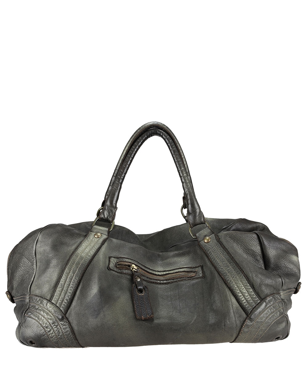 Dyed leather travel bag - AU79 Bags